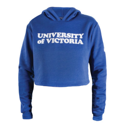 433 Women's Cropped Hoodie UVIC front