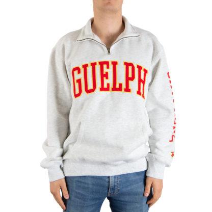 500_Mens_Quarter-zip_GuelphGryphons_front