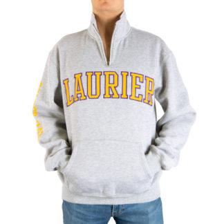 500_Mens_Quarter-zip_LAURIER_front