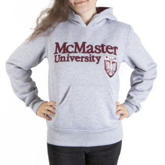 014 Women's Pullover Hoodie McMASTER front