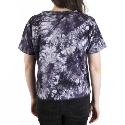 332 Womens Crop SS Tee UBC tie dye back