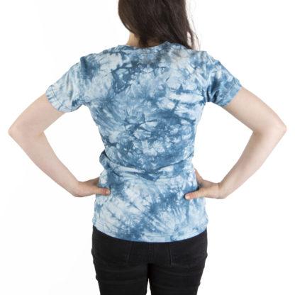 331 Womens SS Tee BROCK tie dye back