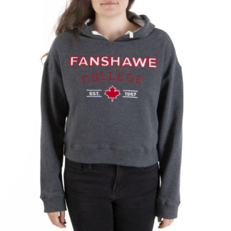 439 Women's Cropped Hoodie FANSHAWE front