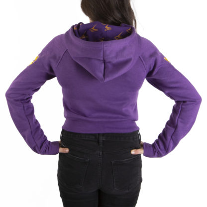014 Women's Pullover Hoodie YORK back
