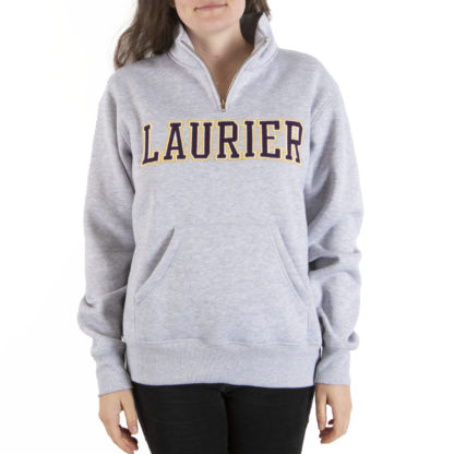 414 Women's Cropped Hoodie LAURIER front